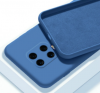 Θήκη ματ tpu σιλικονη μαλακή πίσω κάλυμμα για XIAOMI POCO X3 Μπλε Ραφ  (oem)