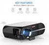 Ψηφιακός Προβολέας 1080P FULL HD LED 3500 Lumen Vivibright GP100 LED Μαύρο