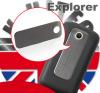 Μεταλλικό για το πίσω καπάκι μπαταρίας για HTC Explorer Μαύρο original