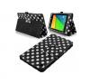 Δερμάτινη Θήκη για το Asus Google Nexus 7 2013 7 Μαύρη με Άσπρες Βούλες (OEM)