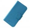 Δερμάτινη Θήκη/Πορτοφόλι για Alcatel One Touch Pop C7 (OT-7041D) Γαλάζιο (OEM)