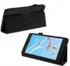Δερματίνη Θήκη Πορτοφόλι για Lenovo Tab 7 essential TB-7304 Μαύρο (ΟΕΜ)