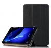 Θήκη Tri-fold με πίσω κάλυμμα σιλικόνης / Slim Book Case για το Samsung Galaxy TAB S 8.4 T700-T705 Μαυρο  (oem)