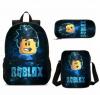 Roblox Τσάντα πλάτης αδιάβροχη Και Τσαντακι φαγητου Και Κασετινα  σετ (ΟΕΜ)