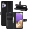 Θήκη Δερματίνης για Samsung A32 5G -  Μαυρο (ΟΕΜ)
