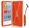 iPod Nano 7 - Θήκη TPU GEL X-Line Πορτοκαλί (OEM)