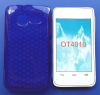 Θήκη TPU Gel Diamond για Alcatel One Touch T΄POP OT4010D Σκούρο Μπλέ (OEM)
