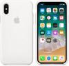 Θήκη Σιλικόνης Πίσω Κάλυμμα για το iPhone X / XS Λευκό