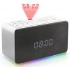 Thomson Ρολόϊ - Ξυπνητήρι με Προβολή Ώρας (Projection) και Ραδιόφωνο Λευκό THOMSON CL301P