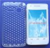 Θήκη TPU Gel Diamonds για Alcatel One Touch S'Pop OT 4030d Διαφανής (OEM)