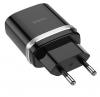 Φορτιστής quick charger  Hoco USB Μαύρο (C12Q Smart)