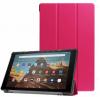 Trifold  θηκη βιβλιο για Samsung Galaxy Tab A7 10.4 inch 2020 [SM-T500/T505/T507] (Φουξια)