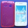Θήκη TPU Gel Diamonds για Alcatel One Touch S'Pop OT 4030d Ρόζ (OEM)