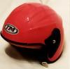 Ροζ Κράνος Jm-Helmet για αστική χρήση για αναβάτες scooter και παπιών Ασημι (OEM)
