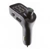 POWERTECH FM TRANSMITTER ΜΕ LCD ΟΘΟΝΗ USB SD BLUETOOTH ΜΑΥΡΟ - (PT-736)