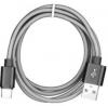 FAST CABLE KLGO Καλώδιο φόρτισης Data  Type-C USB 2m S-52  ΑΣΗΜΙ