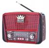 Φορητό FM Ραδιόφωνο  Golon RX-BT455 ΚΟΚΚΙΝΟ (OEM)