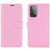Θήκη Δερματίνης για Samsung A52 5G -  Ροζ (ΟΕΜ)