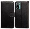 Θήκη Συνθετικής  Δερματινης  για Xiaomi REDMI NOTE 10 5G - Μαύρο (ΟΕΜ)