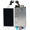 iPhone  5S / SE Complete lcd and digitizer with parts in White OEM - Including Front camera