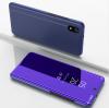 Θήκη Clear View για Xiaomi Redmi 7A Μόβ (OEM)