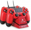 ΒΑΣΗ ΦΟΡΤΙΣΗΣ 4Gamers Dual Charge 'N' Stand Red PS4