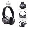 Ακουστικά Bluetooth Pangpai P19 Wireless με ράδιο ΜΑΥΡΟ