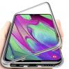 Samsung A40 Μαγνητική  Θήκη πίσω πλάτη ασημί (ΟΕΜ)