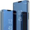 Θήκη Βιβλιο  Clear View για Xiaomi Redmi 9 - Μπλε (OEM)