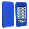 Θήκη σιλικόνης με είσοδο για ζώνη για Apple iPod Touch 2G 3G - Μπλέ (OEM)