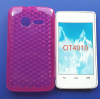 Θήκη TPU Gel Diamond για Alcatel One Touch T΄POP OT4010D Ρόζ (OEM)