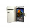 Sony Ericsson Xperia Arc X12 / Arc S Δερμάτινη Θήκη Πορτοφόλι Flip Case - Λευκό ΟΕΜ