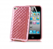 Διαφανής Θήκη - Hydro Gel Case Cover για το iPod Touch 4G σε Ροζ Χρώμα