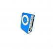 Brushed metallic style MP3 Player σε Μπλέ (OEM)