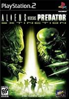 PS2 GAME - ALIENS VERSUS PREDATOR EXTICTION (USED)
