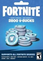 Fortnite - 2800 V-Bucks Gift Card Key