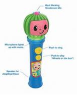 Cocomelon SING ALONG MICROPHONE πραγματικο ασυρματο KARAOKE μικροφωνο με ενσωματωμενη μουσικη κ φωτισμο [co-070]