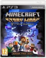 PS3 GAME - Minecraft Story Mode A Telltale Game Series (MTX)