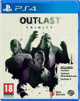 PS4 GAME - OUTLAST TRINITY (USED)
