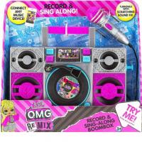 LOL ! SING ALONG MICROPHONE - Remix Karaoke Boombox - με ενσωματωμενη μουσικη κ φωτισμο, δισκο για DJ mixing.. [LL-115]