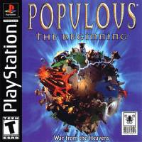 PS1 GAME - POPULOUS THE BEGINNING (MTX)