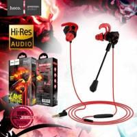Hands Free Hoco M45 Promenade Earphones Stereo 3.5mm Μαύρα με Μικρόφωνο και Πλήκτρο Λειτουργίας
