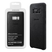 ΘΗΚΗ SAMSUNG S8 PLUS G955 ALCANTARA COVER EF-XG955ASEGWW GREY PACKING OR