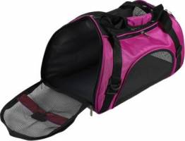 Portable Travel Pet Carrier For Cat Dog Backpack Purple