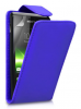 Sony Xperia M C1905 - Δερμάτινη Θήκη Flip Μπλέ (OEM)