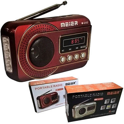 usb sd mp3 player meier m u53 fm radio mit usb tf und. Black Bedroom Furniture Sets. Home Design Ideas