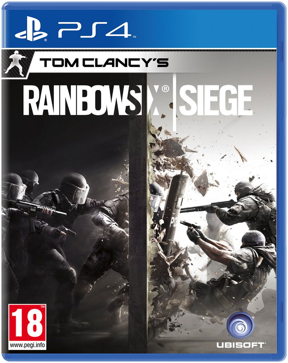 PS4 GAME - Tom Clancy's Rainbow Six Siege