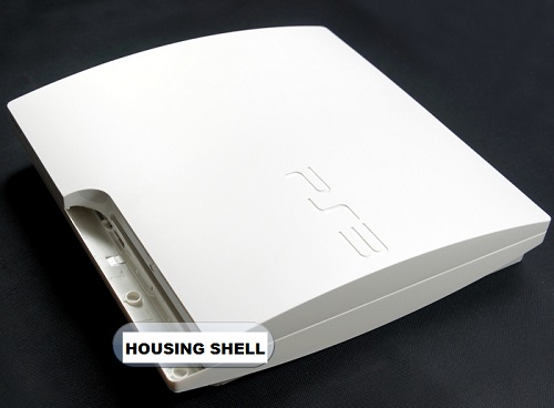 Housing Shell Case For PlayStation 3 PS3 Slim White (OEM) in