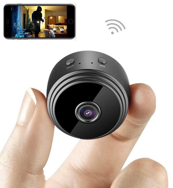 Mini Spy Camera WiFi Hidden Camera AOBO HC005 Wireless HD