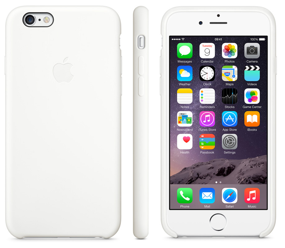 low priced 14700 8cec7 iPhone 6/6s Leather Case - WHITE LC-IP6-WH